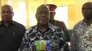 Rais Dkt. John Pombe Magufuli afanya ziara ya kushitukiza katika ofisi za gazeti la Uhuru DSM.