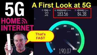 🔴 First look at 5G Home Internet - How Fast is it?