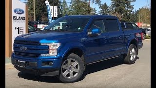2018 Ford F-150 Lariat FX4 Sport EcoBoost SuperCrew Review| Island Ford