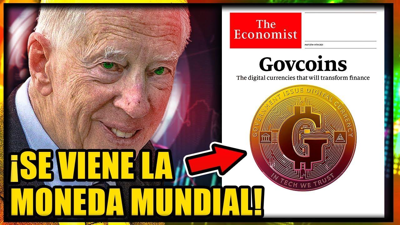 The Economist y Rothschild Anuncian El Bitcoin de los Gobiernos | Tu Dinero en el Gran Reinicio 2030