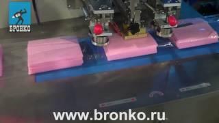 видео Упаковка пирожных на горизонтальной упаковочной машине