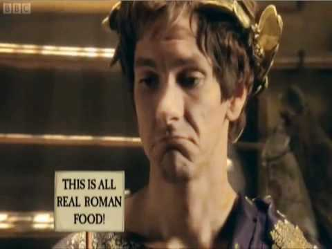 Horrible Histories - Roman Come dine with me.