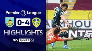 Rodrigo double helps Leeds demolish Burnley! | Burnley 0-4 Leeds | Premier League Highlights