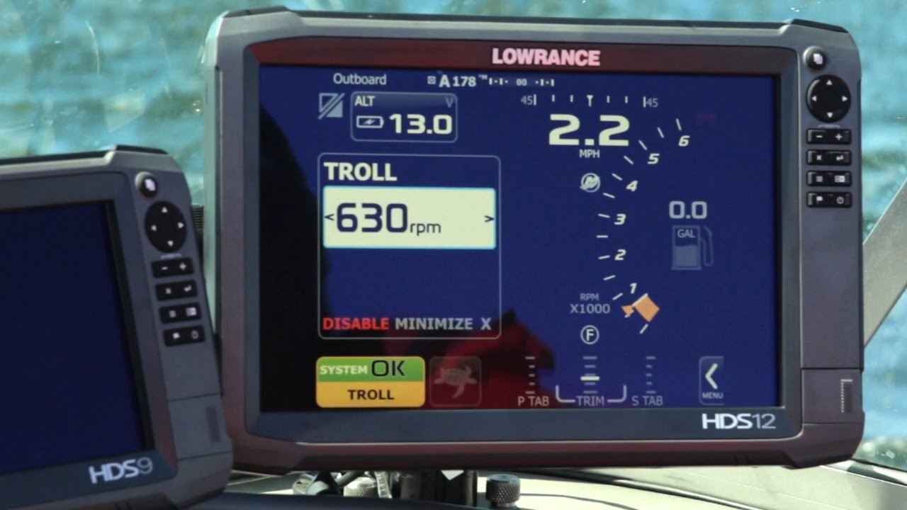 Hands-Free Outboard Control with Mercury VesselView and Lowrance