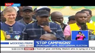 UHURU: Stop campaigns