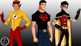 Top 10 Young Justice Shocking Facts