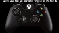 Update your Xbox One Controller Firmware on Windows 10