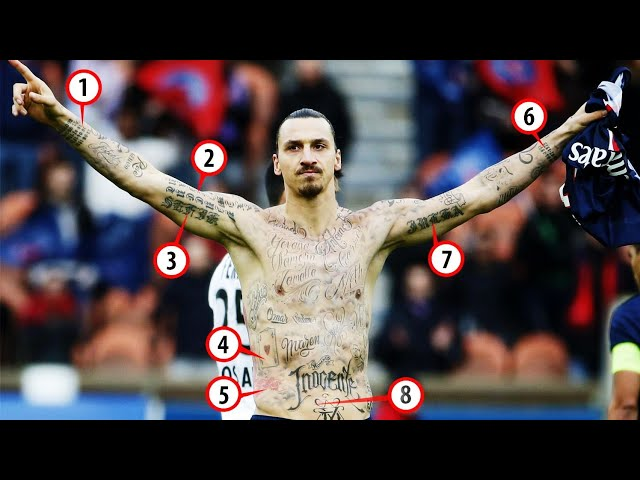 Zlatan Ibrahimovic Tattoos And Its Meanings Youtube