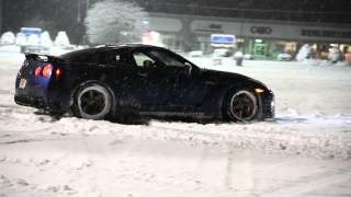 Forged Performance Winter Snow Testing in their GT-R!