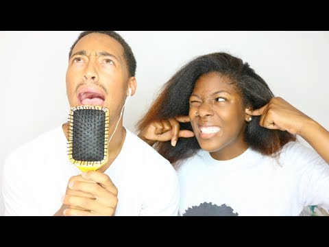 COUPLE Singing while wearing Noise Cancelling Headphones | EXTREMELY HILARIOUS!!!!