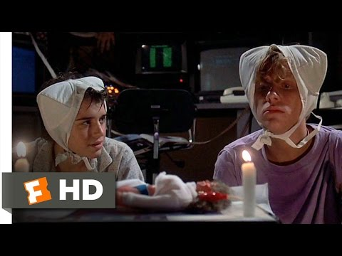 Weird Science (3/12) Movie CLIP - And Gary Created Woman (1985) HD