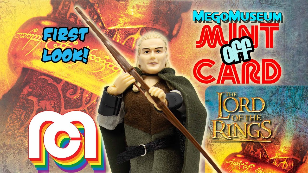 Mint Off Card: Mego Legolas from Lord of the Rings - YouTube