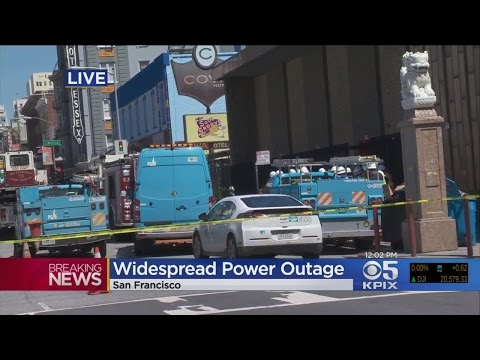 SF OUTAGE: Fire At Substation Triggers Massive Outage In San Francisco
