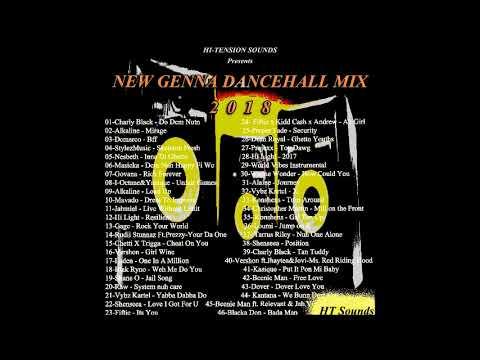 HI-TENSION SOUNDS - NEW GENNA x EXCLUSIVE x DANCEHALL MIX 2018 - (DJ DALLAR COIN) MARCH 2018
