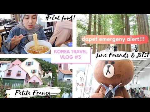 HALAL FOOD, NAMI ISLAND, LINE FRIENDS BT21, HAN RIVER   Part #3