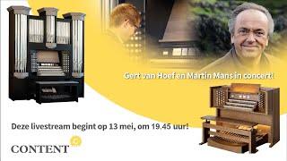 Dubbelconcert door Gert van Hoef en Martin Mans - Content