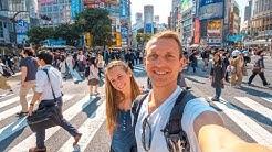 Tokio Japan • Die größte Stadt der Welt und Shibuya Crossing| VLOG #354