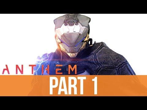 ANTHEM Gameplay Walkthrough Part 1 - INTRO (Full Game)