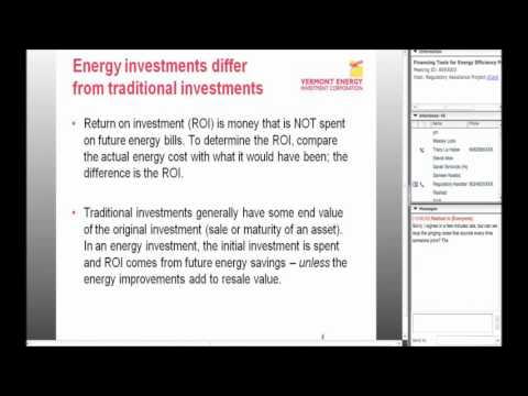 Financing Tools for Energy Efficiency Programs (Webinar)