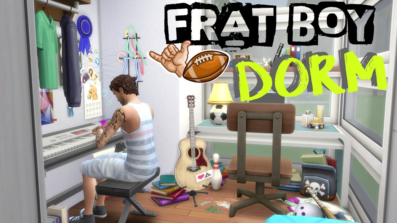 The Sims 4 College Dorm Room Build