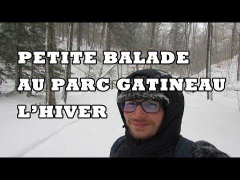 PETITE BALADE AU PARC GATINEAU QUEBEC   Paf au Canada