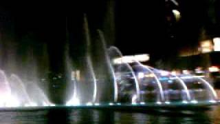 DUBAI MALL BURJ KHALIFAH WATER FOUNTAIN. THE ADDRESS HOTEL DUBAI SHARIF MADKESHWAR DHARWAD
