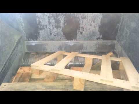 Broyeur bois - Application chaudière
