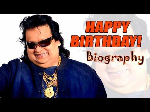 Bappi Lahiri Biography  | Bappi Lahiri | Alokesh Lahiri | Bappi da Birthday Wish
