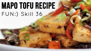 Vegetarian Mapo Tofu Recipe [Skill 036]
