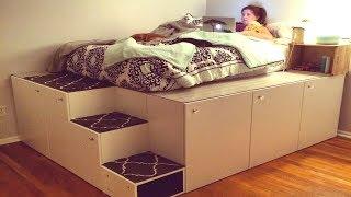 أفكار وحيل منزلية لتوفير المساحة حقا مدهشة..!!