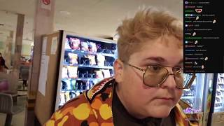Andy Milonakis Gets Mistaken For a Woman And Throws His Phone on The Floor (Ft. Keemstar)