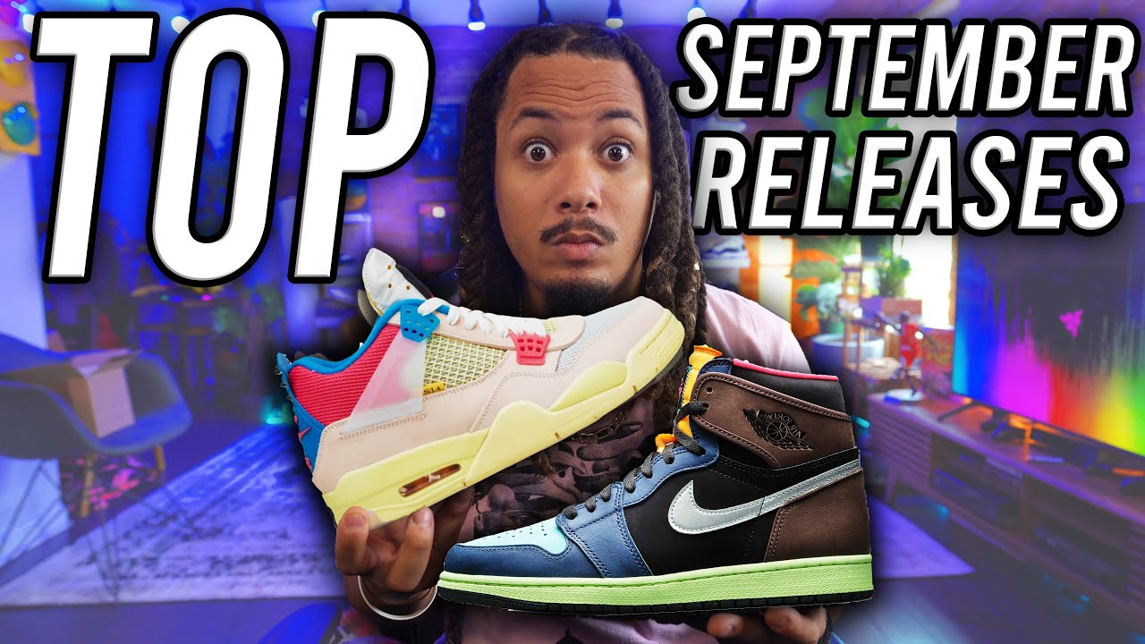 UPCOMING SNEAKERS OF SEPTEMBER 2020
