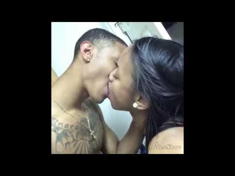 Interracial lesbian kiss - YouTube