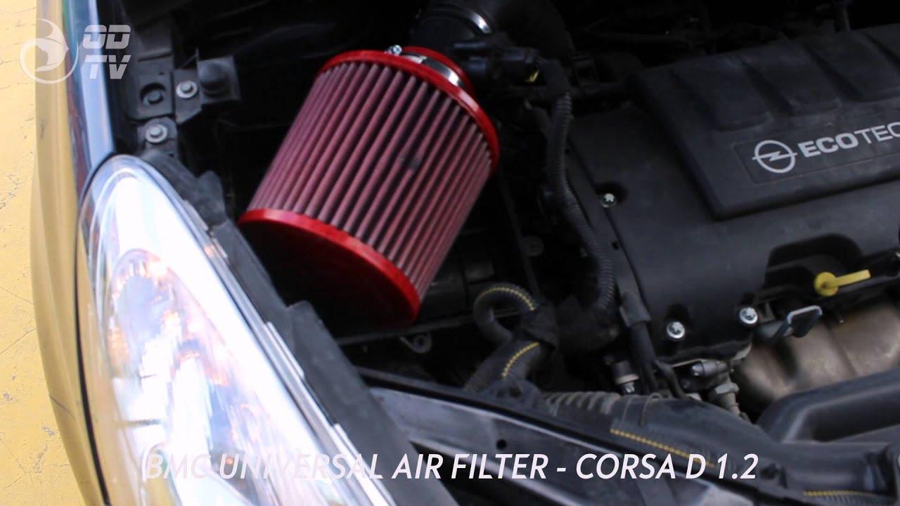 Corsa D 1 2 Bmc Air Filter Odak Dynamics Youtube