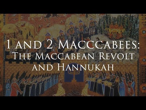 Be the Maccabee!!!! The Maccabean Revolt for Catholics Today