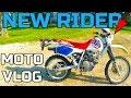 MOTO VLOG | NEW RIDER AND BIKE | DRZ 250 VS XR 250