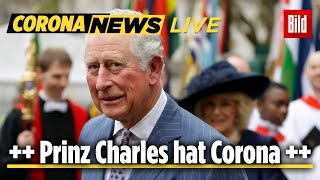 🔴 Buckingham Palace Bestätigt: Prinz Charles Hat Corona | News-update