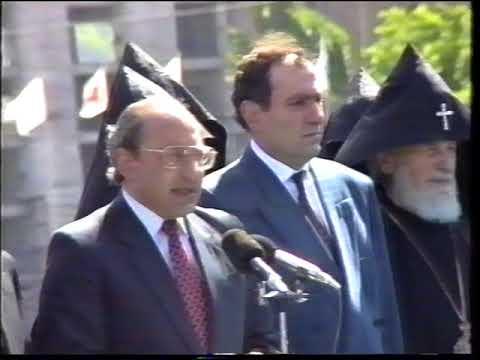 Первый Военный Парад ВС Республики Армения 28.05.1993г. (часть первая)