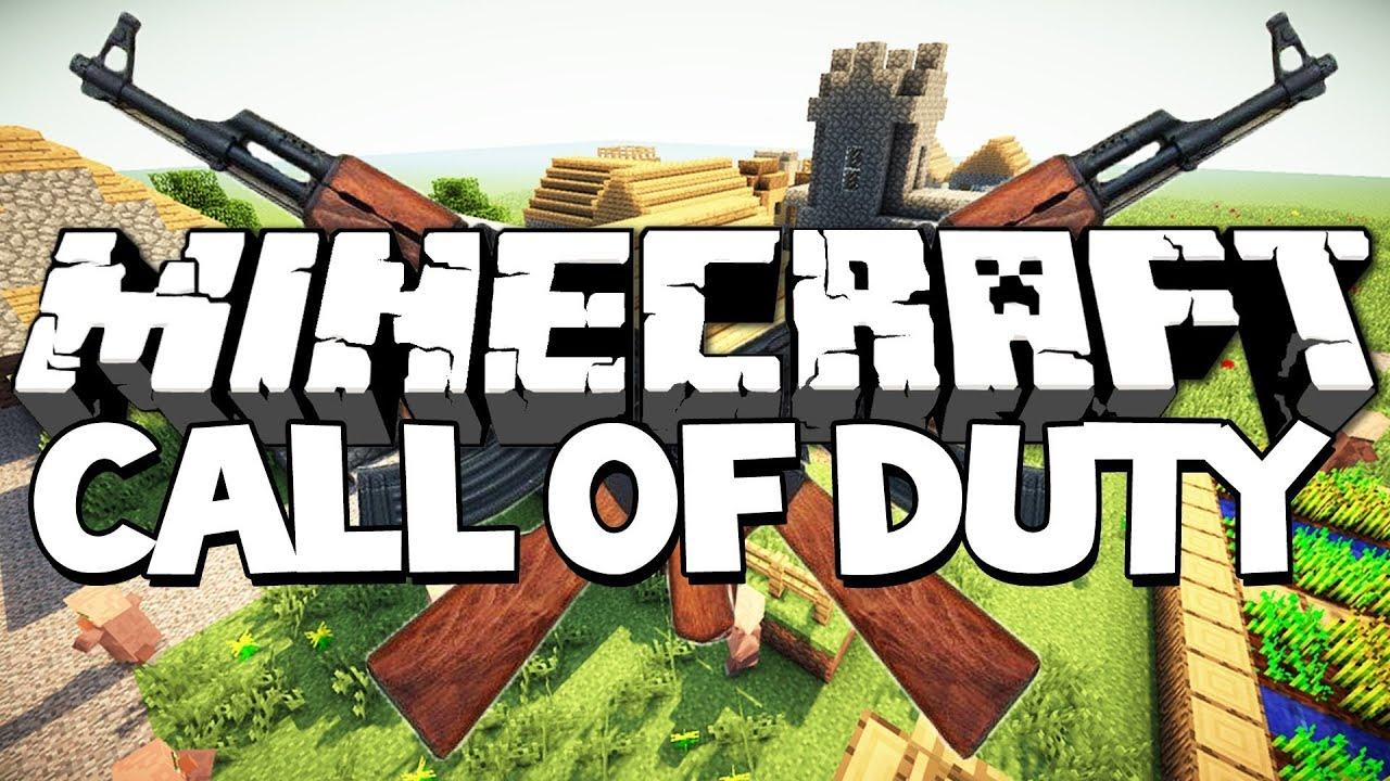 Call Of Duty Dans Minecraft Et