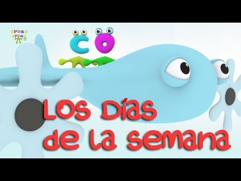 Los Días De La Semana En Español Y En Inglés The Days Of The Week In Spanish And English Youtube