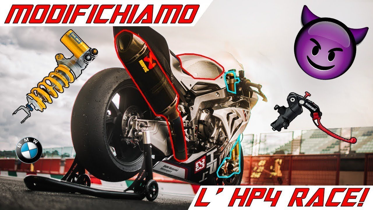 MODIFICHIAMO LA BMW HP4 RACE! LIKE A SIR WEEKLY VLOG PARTE 2