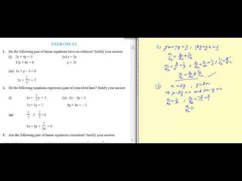 NCERT Exemplar for Class 10 Maths Chapter 3 Ex 3 2 Q 1