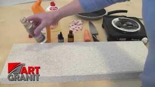 Тест Акрилового камня(Сайт: http://artgranit63.ru Видео на YouTube: http://www.youtube.com/watch?v=-UKrlsDOcYc Жесткие испытания на прочность искусственного Акрил..., 2015-02-14T16:17:40.000Z)