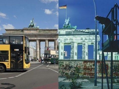 Berlin Landscape of Memory: Before the Wall Came Down and Today