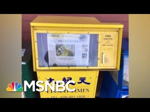 Anti-China Group Hired GOP Strategist In Pro-Trump Shift | Rachel Maddow | MSNBC