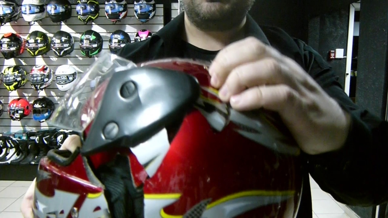 Краш тест мотошлема Safelead
