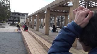 公園で映像を撮っていたら、後ろのカップルが急に喧嘩しました。残され...