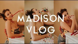 Madison Photoshoot Behind the Scenes Vlog | Canon 1DX2