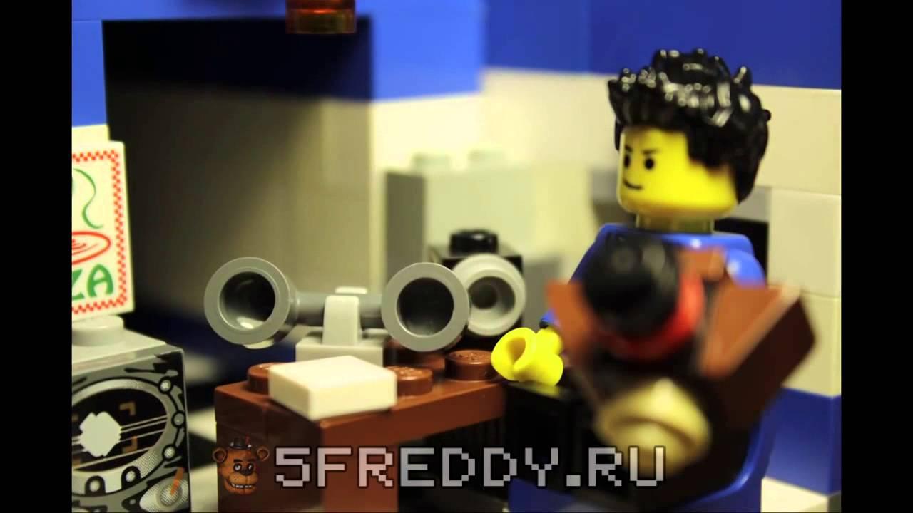 Как сделать зайца бони из 5 ночей с фреди из Lego:::: how - YouTube