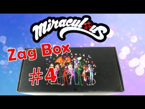 Miraculous Ladybug Zag Box Subscription #4